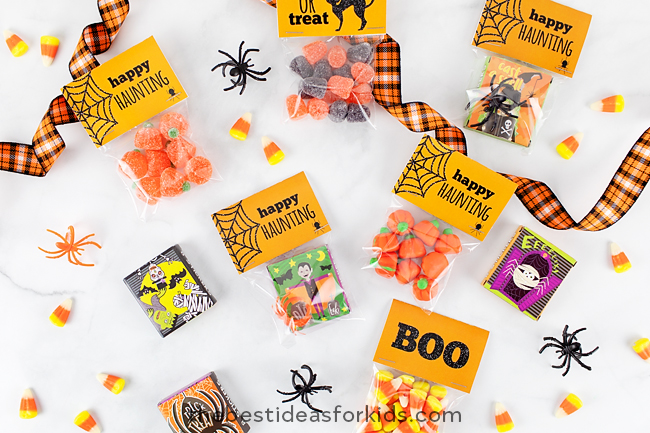 Free Halloween Tag Printables