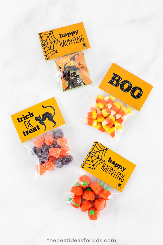 Halloween Tags Free Printable