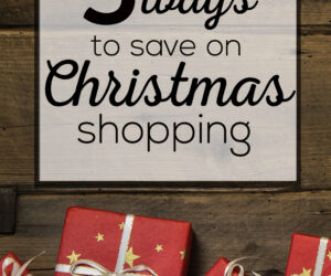 5 ways to save on Christmas shopping