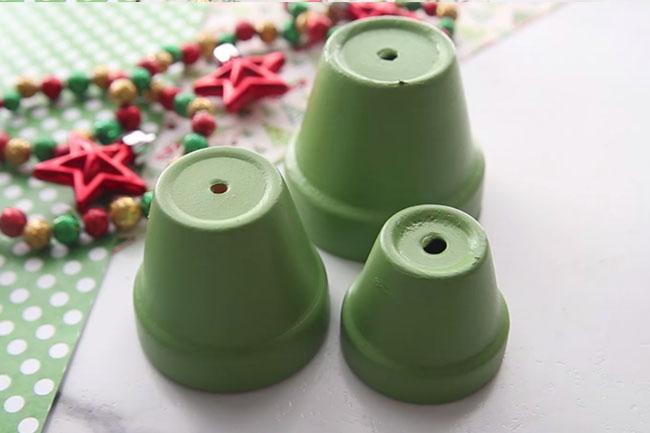 Paint Terracotta Pots Green