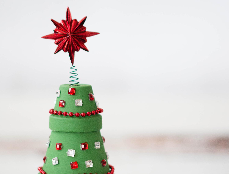Terracotta Christmas Tree