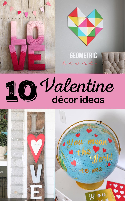10 Valentine Décor Ideas