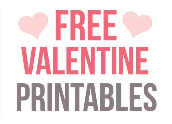 free valentines day cards printable