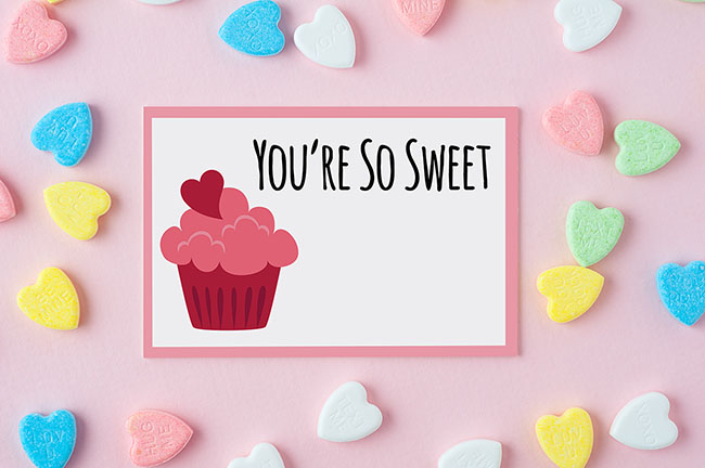 You're so Sweet Printable Tag