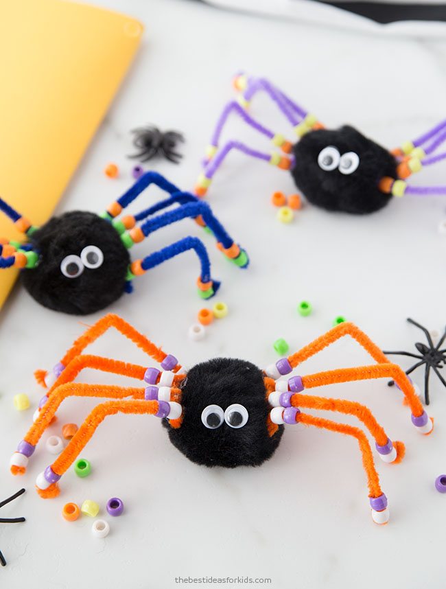 Spider Halloween Craft for Kids