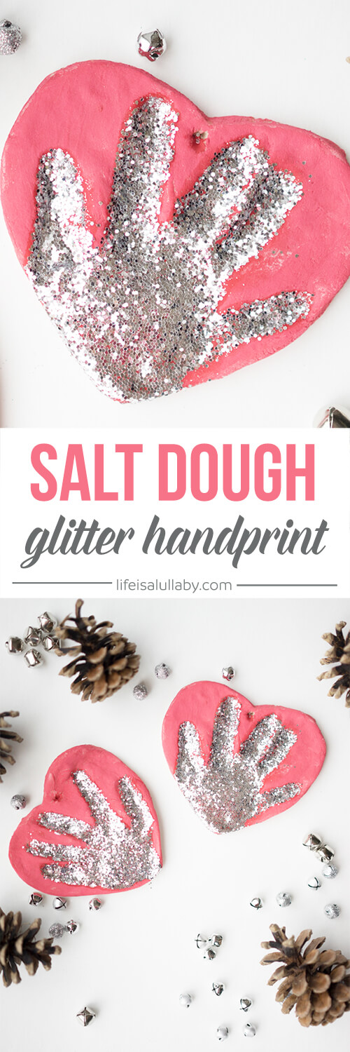Salt Dough Handprint Ornament Recipe