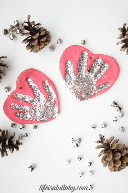 Recipe For Salt Dough Handprint Ornament