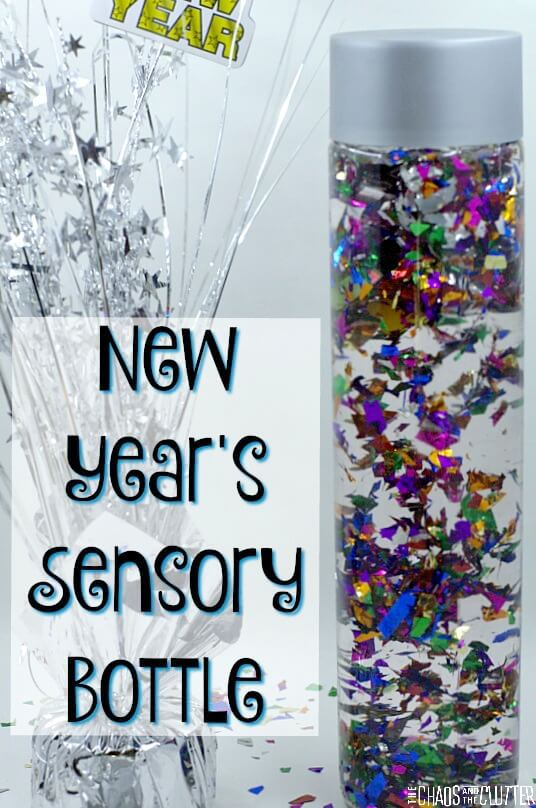 New Years Sensory Bottle