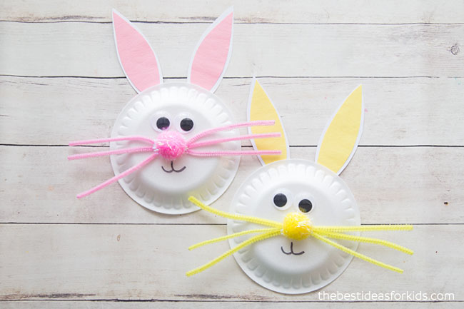 Easter Bunny Paper Plate Craft for Kids  sc 1 st  The Best Ideas for Kids & Paper Plate Easter Bunny Craft - The Best Ideas for Kids