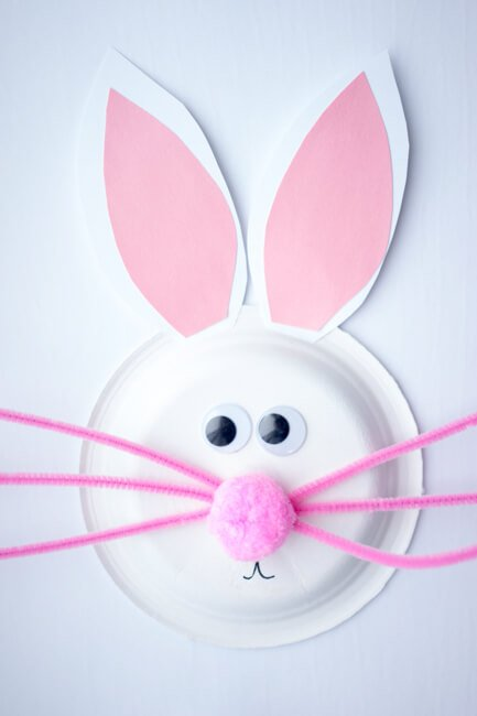 easter bunny crafts for toddlers crafting