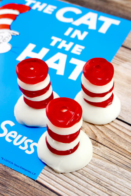 Cat in The Hat Treat Ideas