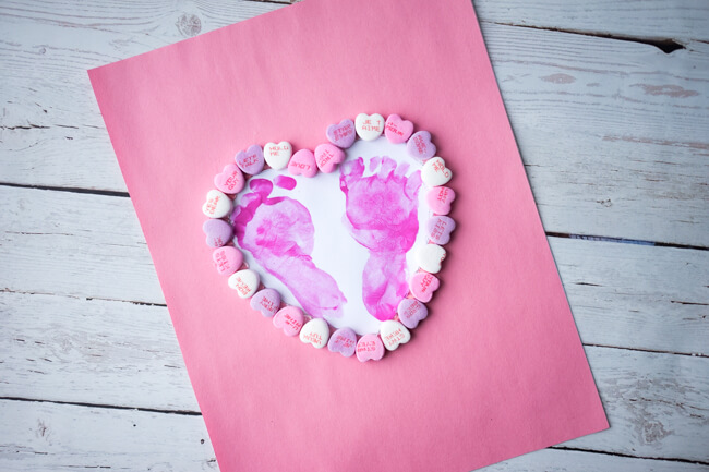 Footprint Heart Craft