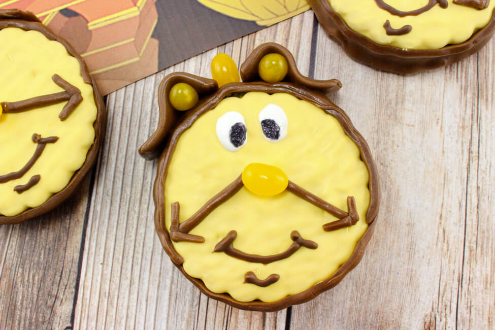 Cogsworth from Beauty & the Beast Treat