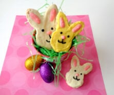 Easter Bunny Rice Krispies Treats for Kids