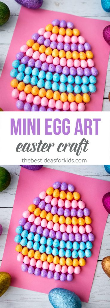 Mini Egg Art Easter Craft