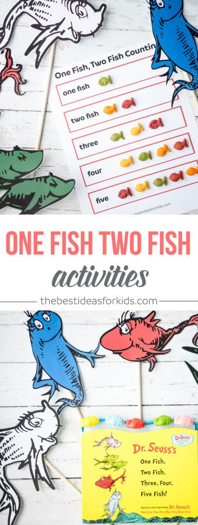 One fish two fish printable activity the best ideas for kids for One fish two fish printable