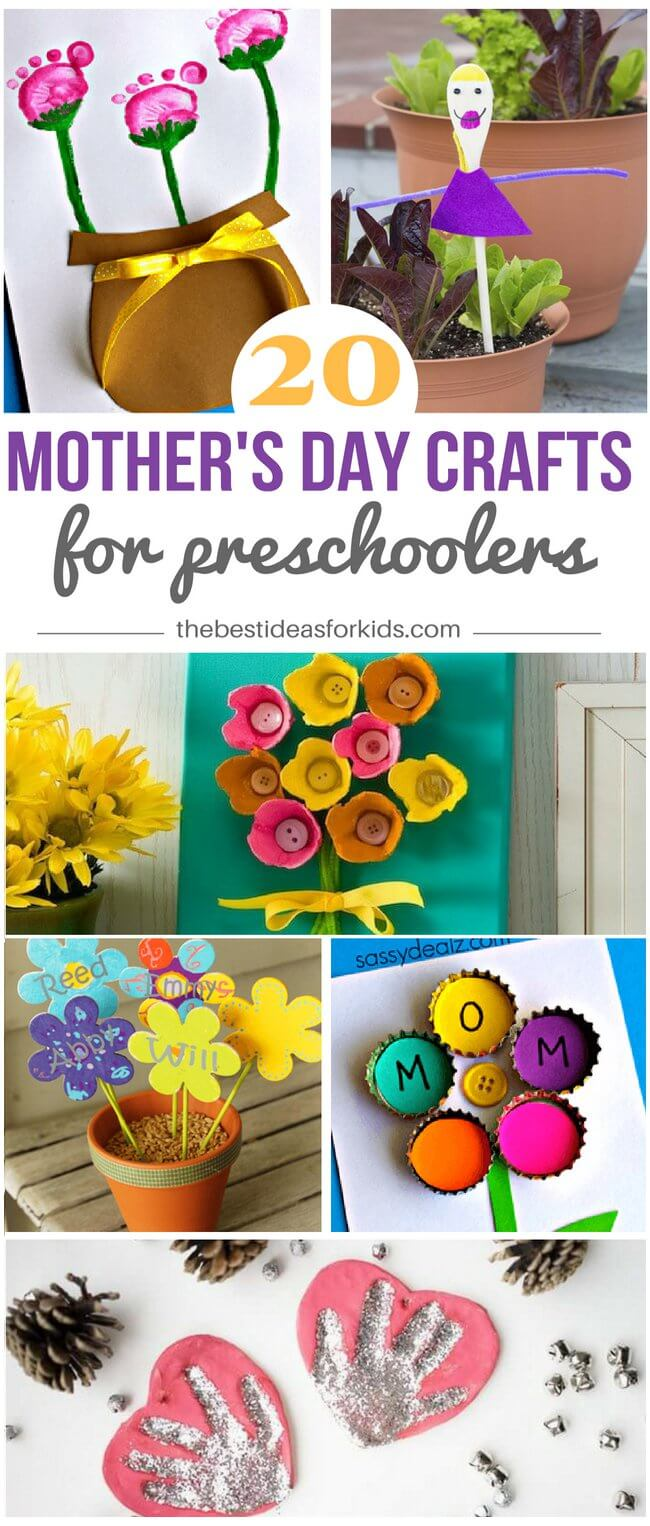 Mothers Day Crafts For Preschoolers