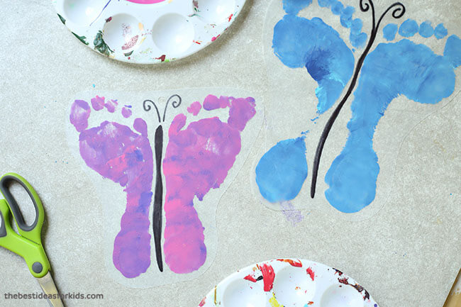 Shrinky Dink Footprint Keychain The Best Ideas For Kids