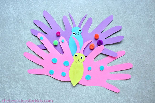 Butterfly Handprint Card The Best Ideas For Kids