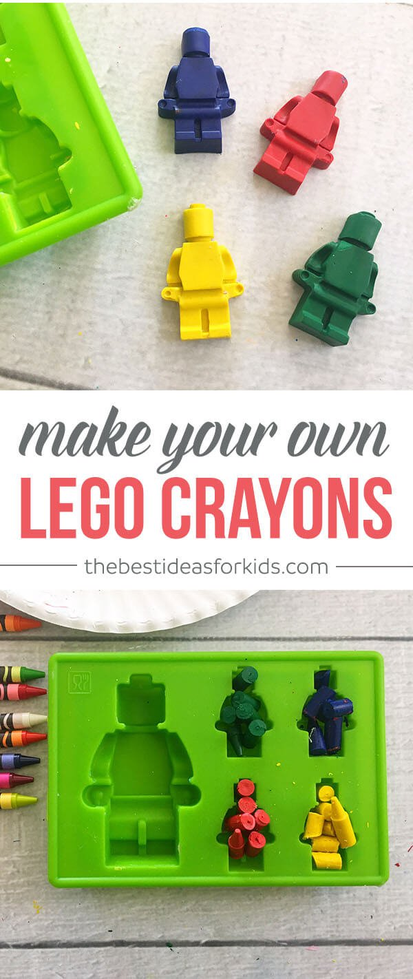 How To Make Your Own Lego Crayons The Best Ideas For Kids