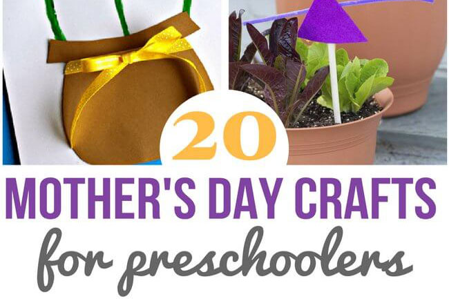 20 Mother's Day Crafts for Preschoolers - The Best Ideas ...