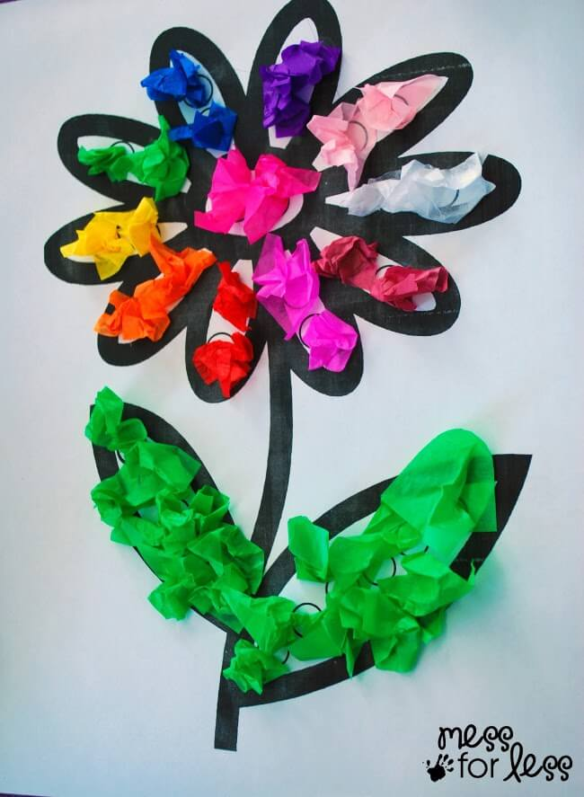mother's day crafts for preschoolers  the best ideas for kids, Natural flower