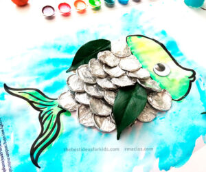 Fish with Foil Craft