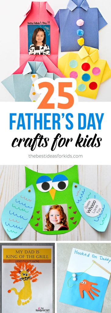 Handmade Fathers Day Gifts From Kids