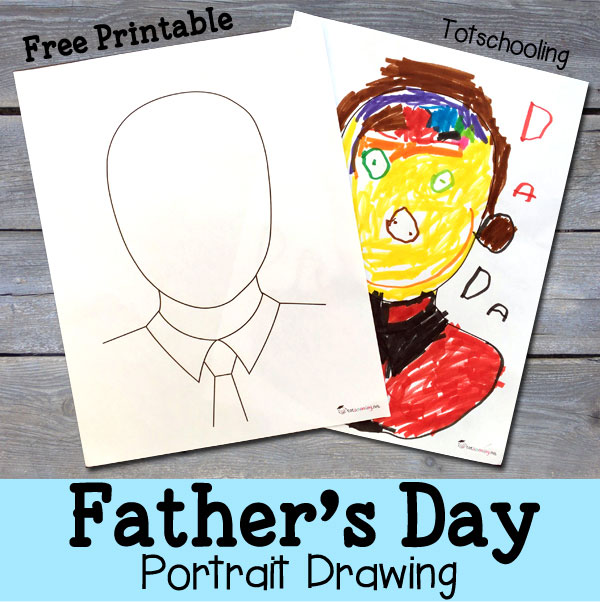 Father's Day Portrait Printable