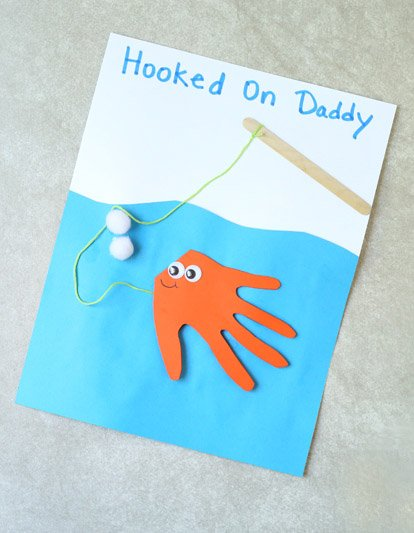 Fish Handprint Card