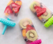Frozen Fruit Popsicles