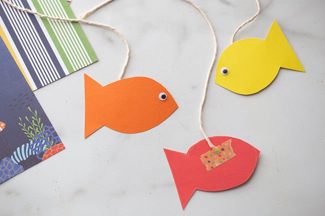 Make Paper Fish for Aquarium
