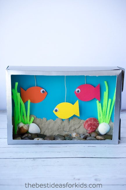 Cereal Box Aquarium Project Ideas