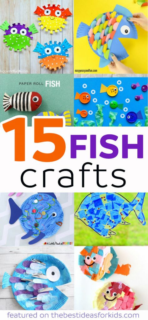 15 Fun Fish Craft Ideas for Kids