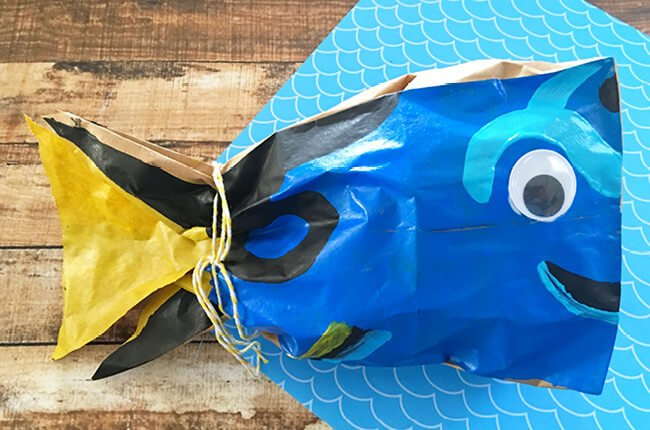 Finding Dory Paper Bag