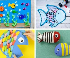 Fish Crafts for Kids