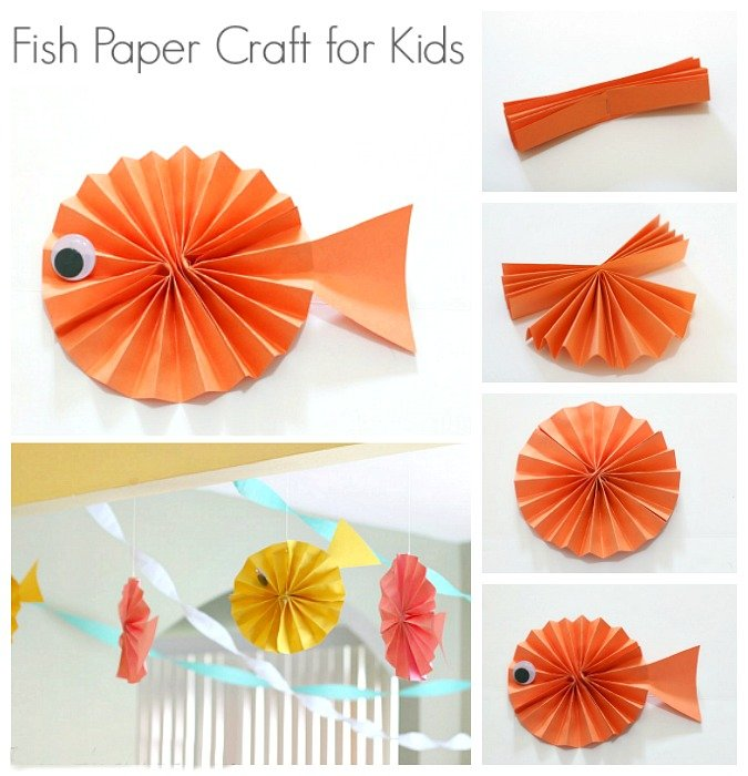 Fish Paper Craft
