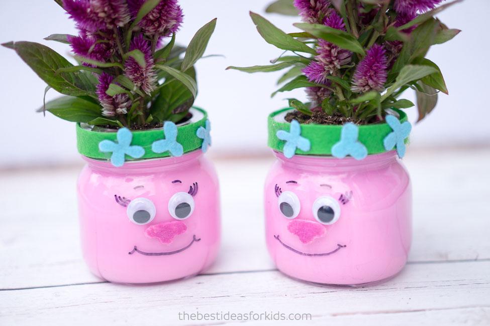 trolls mason jars the best ideas for kids