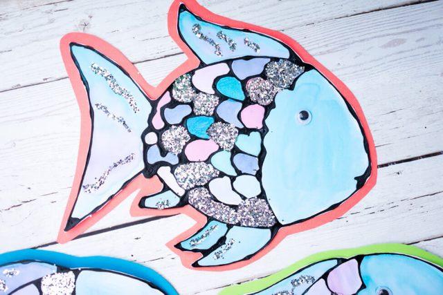 Rainbow Fish Book Craft