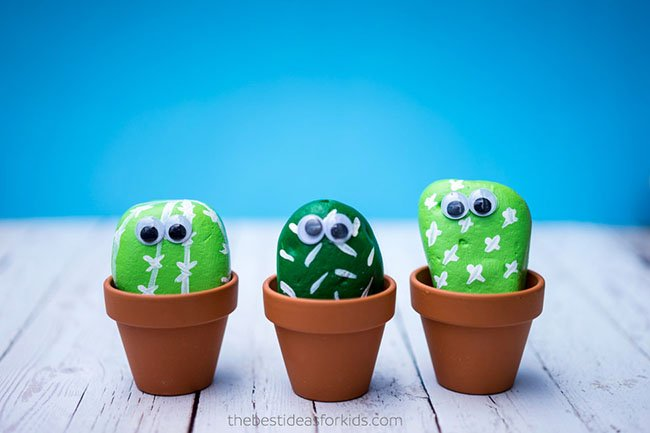 Cactus Rocks Craft