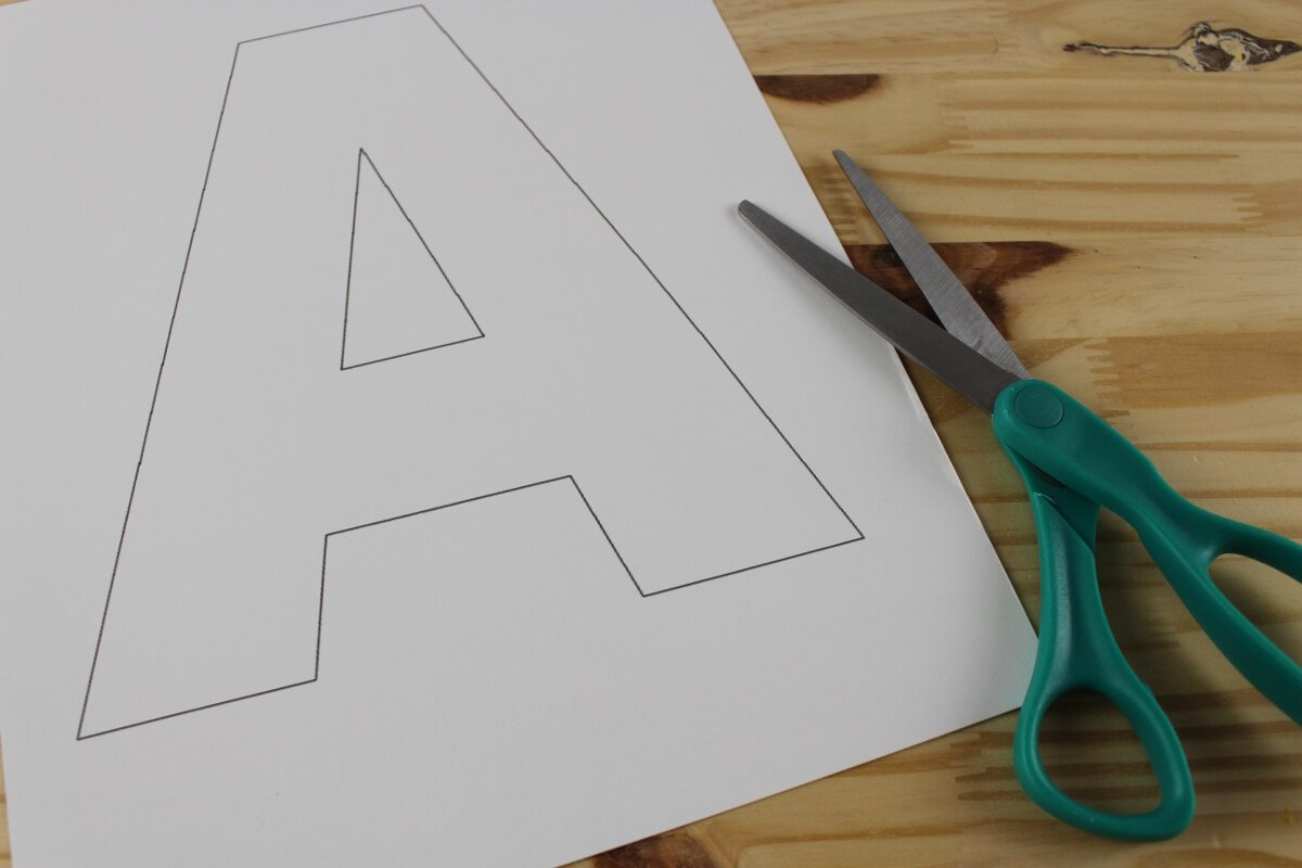 Letter A Craft A Is For Apple The Best Ideas For Kids
