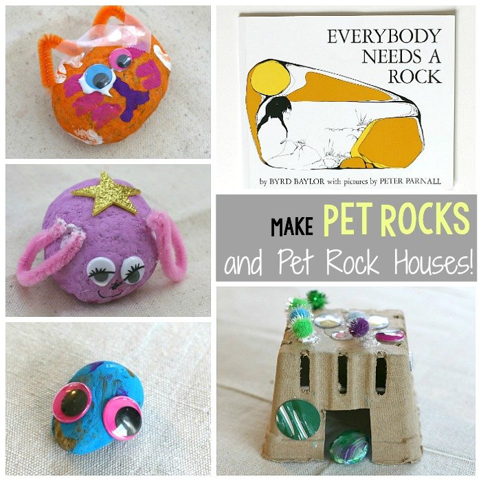Pet Rock Houses