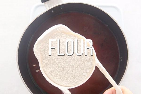 Dry Ingredients Autumn Playdough
