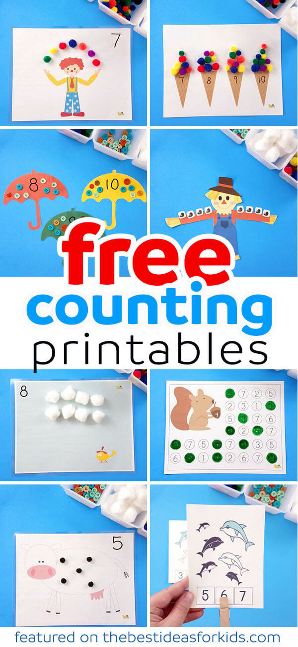 Free Counting Printables - The Best Ideas for Kids