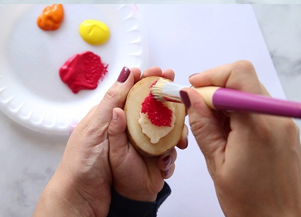 Paint Potato Stamp