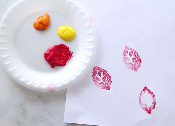 Potato Stamp Painting