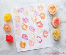 How to Make a Potato Stamp - Potato Stamping
