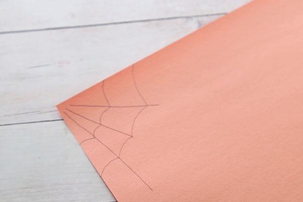 Draw Spider Webs