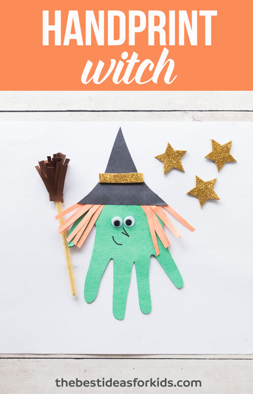 Handprint Witch The Best Ideas For Kids