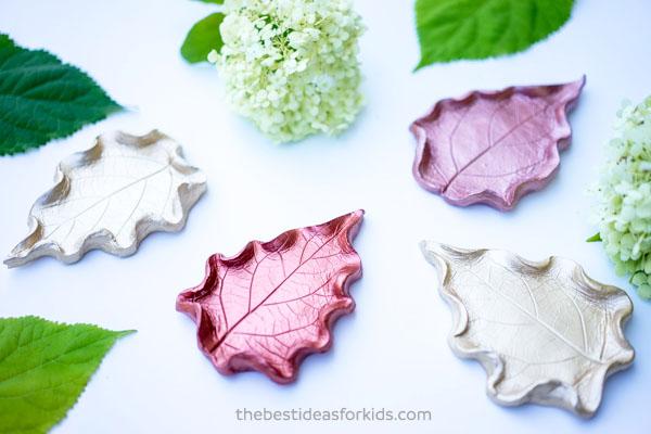 Leaf Clay Dish DIY
